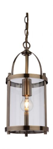 Firstlight 8300AB Antique Brass Imperial Round Lantern - 1 Light